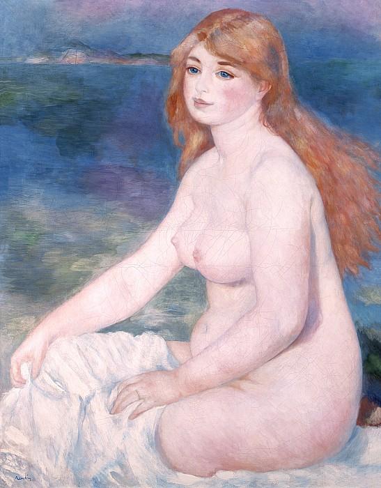Blonde Bather II Print by Renoir