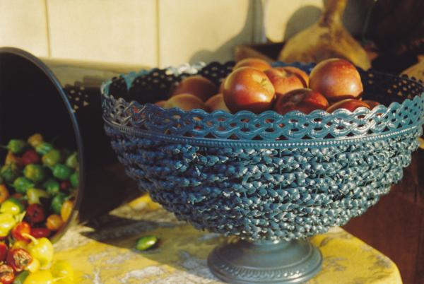 Blue Bowl Photograph  - Blue Bowl Fine Art Print