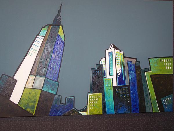 Lorraine Downey - Blue City