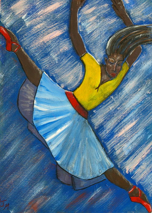 Dalila Jasmin - Blue Dancer