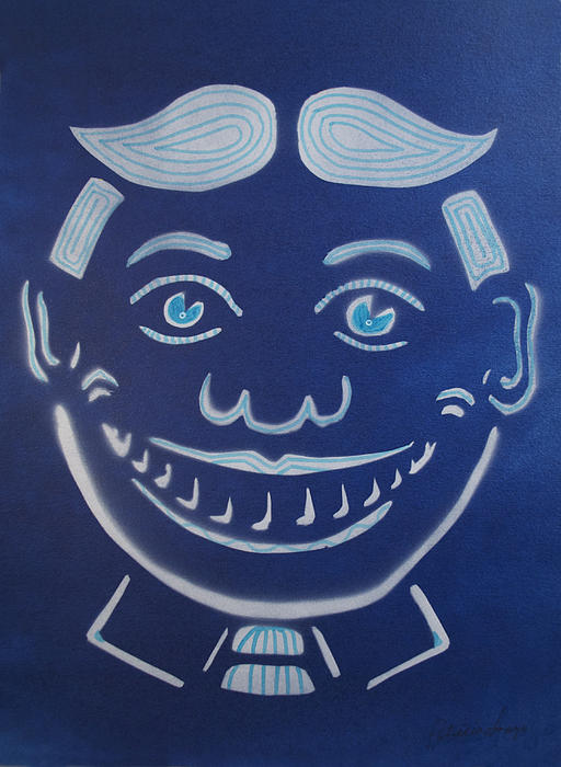 Blue Dream Tillie Print by Patricia Arroyo