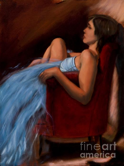 Serena Van Vranken - Blue Dress - 2009