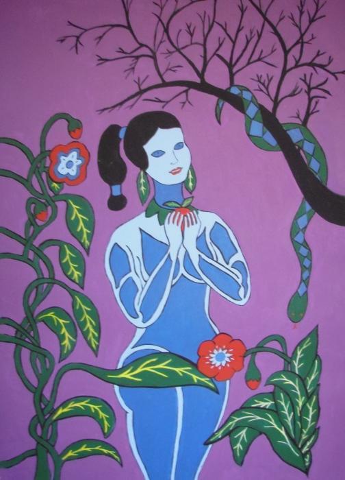 Stephanie Moore - Blue Eve  No. 2