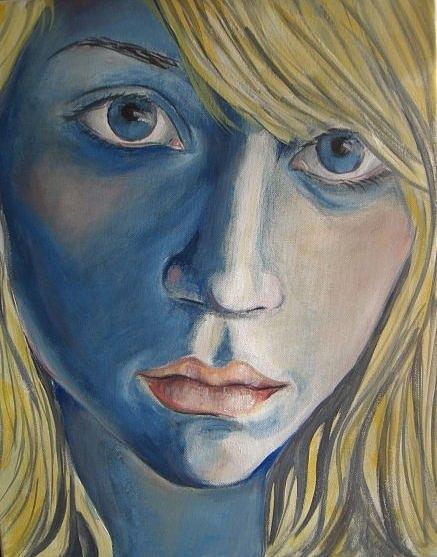 Ida Eriksen - Blue girl