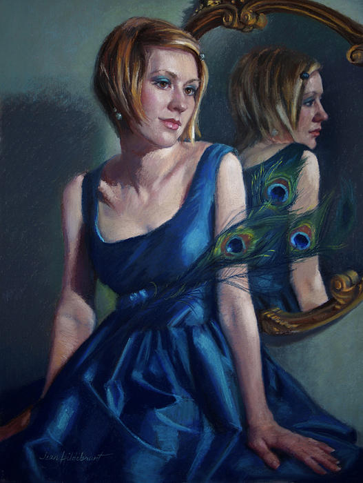 Blue Print by Jean Hildebrant