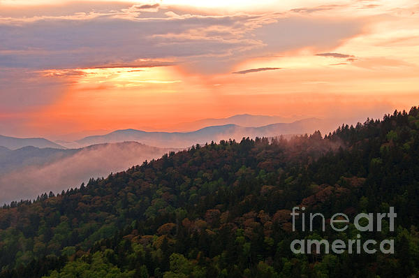 Bob and Nancy Kendrick - Blue Ridge Sunset