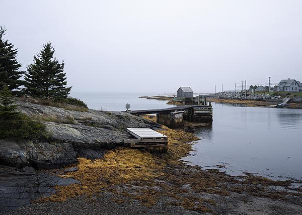 Blue Rocks Nova Scotia 10 Print by John Burnett
