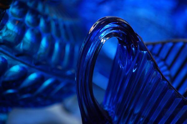 Blue Wave Print by Eamon LaViolette