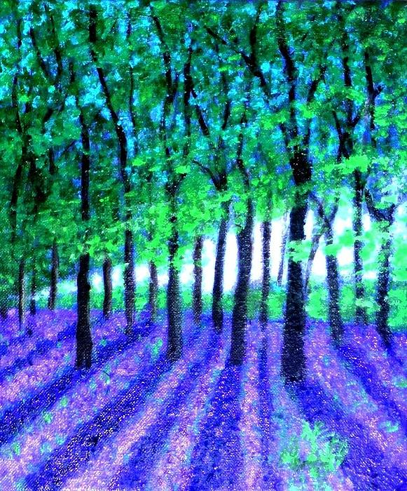 Marie-Line Vasseur - Bluebells forest for my cousin