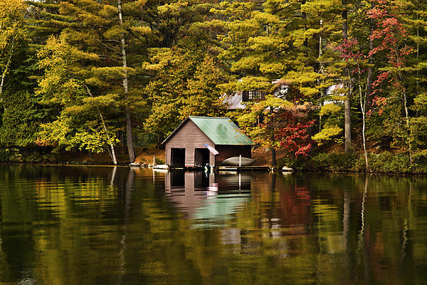 Boat House Photograph  - Boat House Fine Art Print