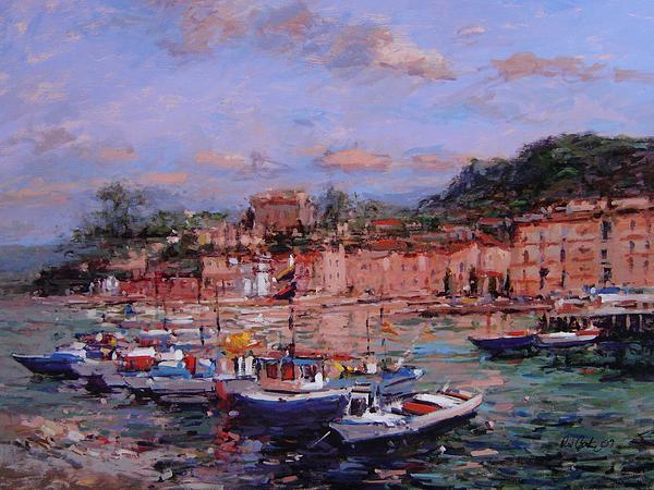 R W Goetting - Boats at Sorrento