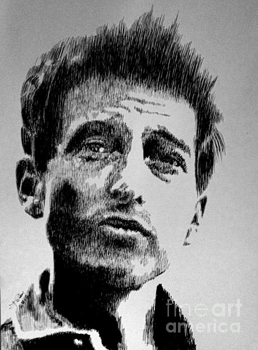 Bob Dylan Print by Robbi  Musser