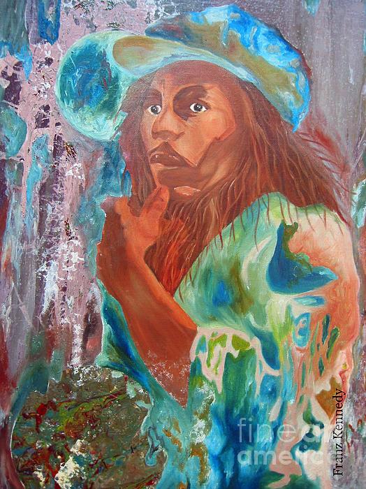 Bob Marley Print by Kennedy Franz