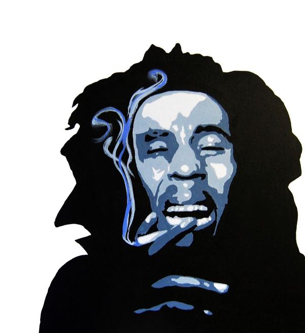 Bob Marley Print by Michael Ringwalt