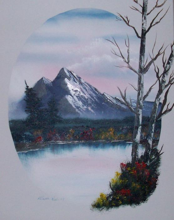 Bob Ross Oil Paintings