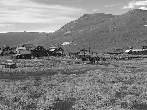 Bodie Cabins Print by Philip Tolok