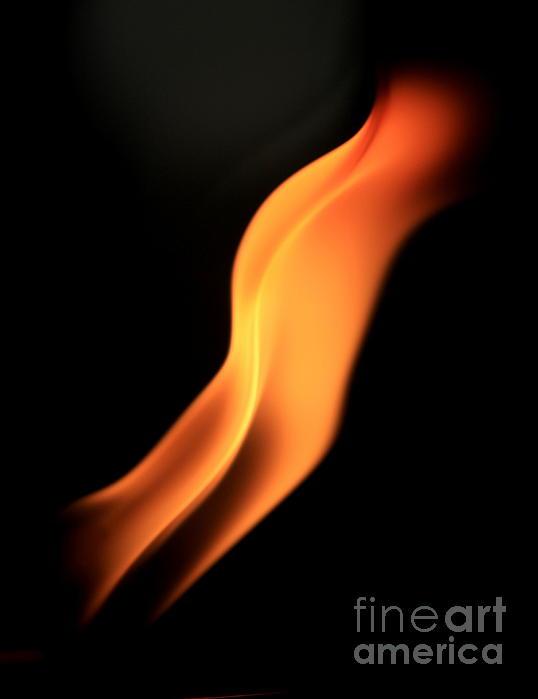 Body Of Fire Print by Arie Arik Chen