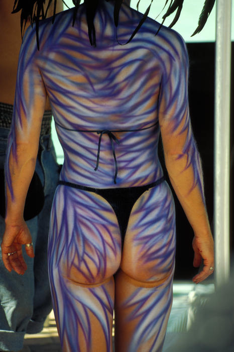 Key West Body Painting Competition