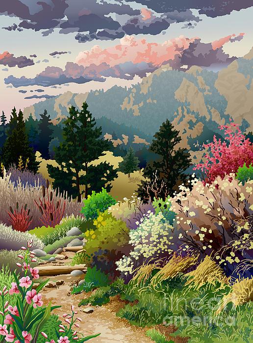 Anne Gifford - Bolder Boulder 10K Poster 2007