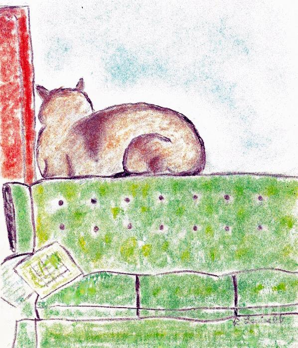 Boo Bear's Solitude Print by Robyn Louisell