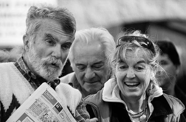 Boomers Discussion Print by Nelieta Mishchenko