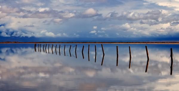 Borderline - Reflections Of Earth Print by Steven Milner