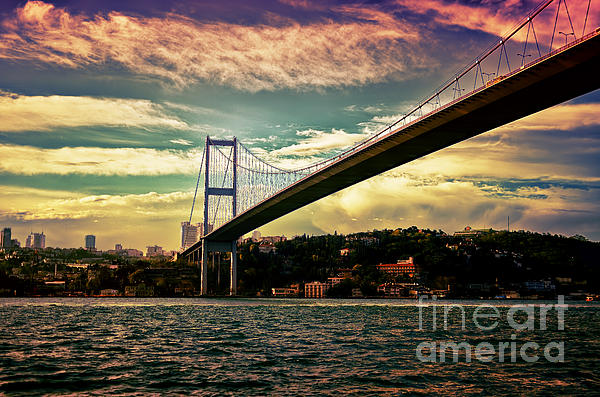 Bosphorous Bridge Print by Nilay Tailor
