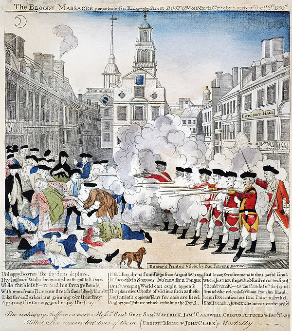 """an overview of the boston massacre in 18th century 1723–1770), african american victim of the """"boston massacre"""" in ethnic and  racial minorities in the  summary article: attucks, crispus (c  the last  generation of the eighteenth century and the first of the nineteenth century  witnessed an."""
