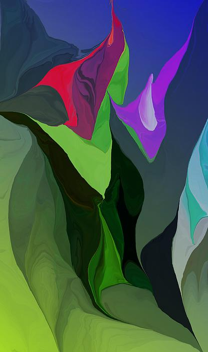 Botanical Fantasy 042312 Digital Art