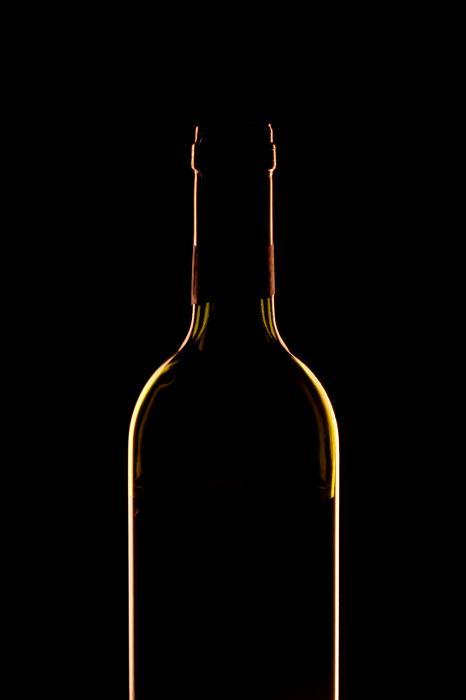 Bottle Of Wine Print by Andrew Soundarajan