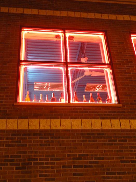 Guy Ricketts - Bottles in the Neon Window