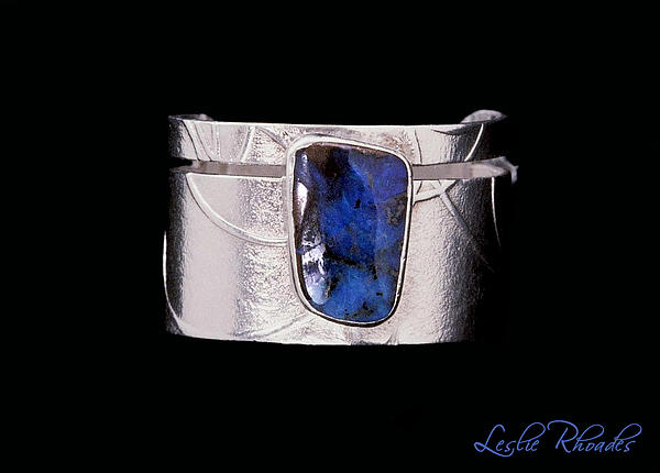 Boulder Opal Silver Ring Jewelry