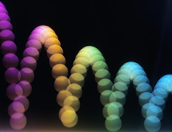 Bouncing Ball Print by Adam Hart-davis