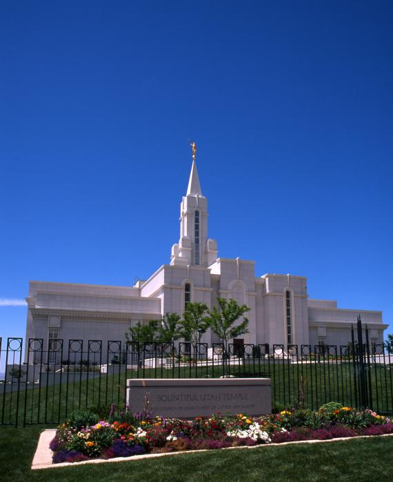 Bountiful Utah Temple Photograph by Troy Montemayor - Bountiful ...