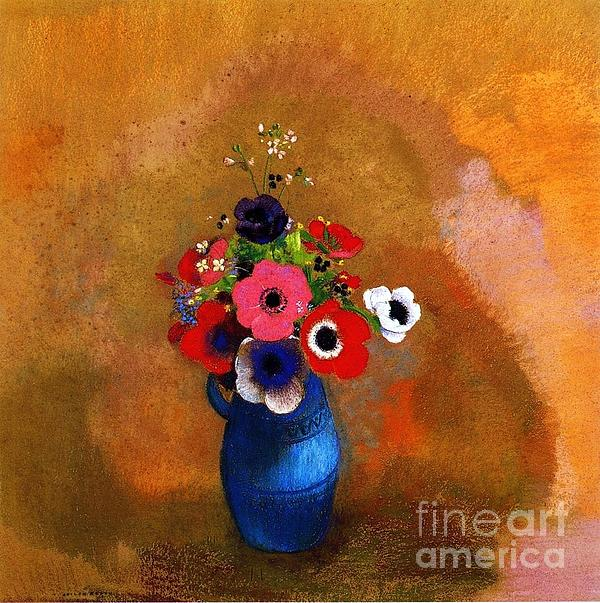 Pg Reproductions - Bouquet of Anemones