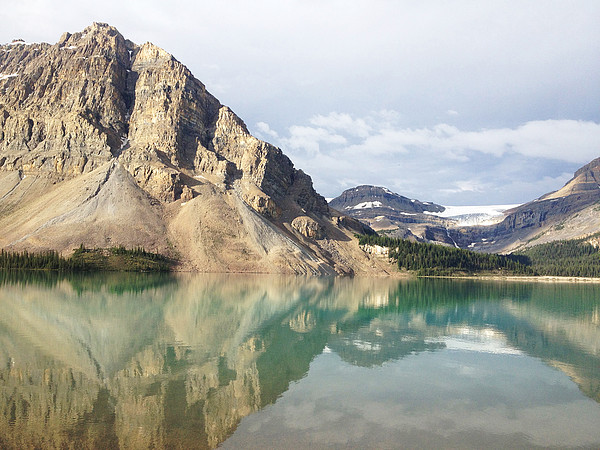 Bow Lake Print by William Andrew