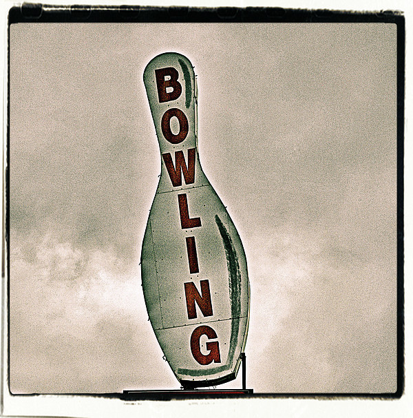 Bowling Print by Photograph by Bob Travaglione FoToEdge