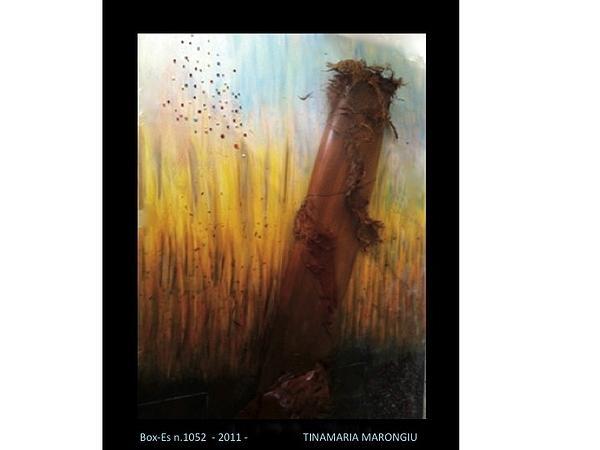 Box-es N.1052  - 2011 - Print by Tinamaria Marongiu