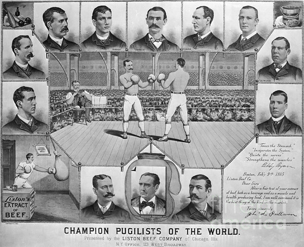 Boxing: American Champions Print by Granger