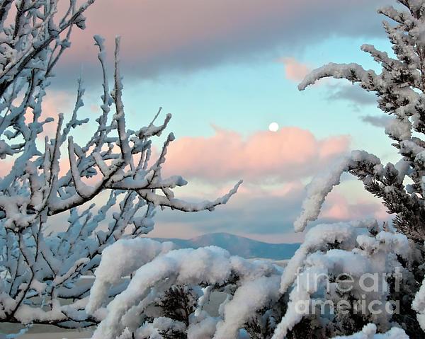 Boyd Lake Winter Sunrise Print by Harry Strharsky