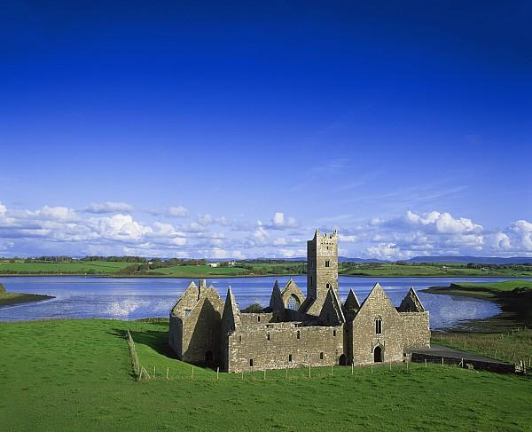 Boyle Abbey, Ballina, Co Mayo Print by The Irish Image Collection