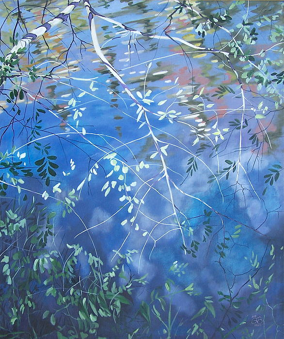 Anne Bevan - Branches Bending to the Stream