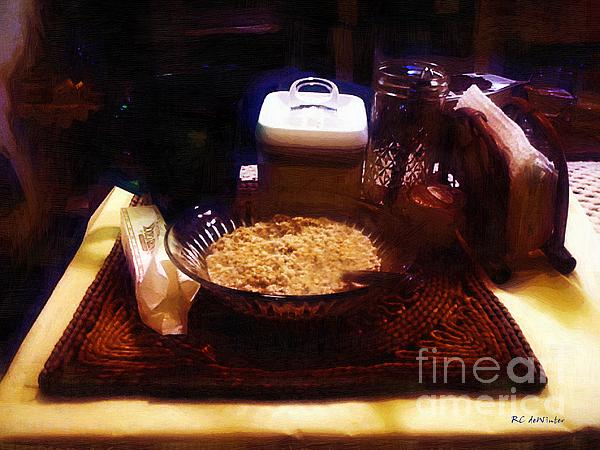 Breakfast Of Champions Print by RC DeWinter