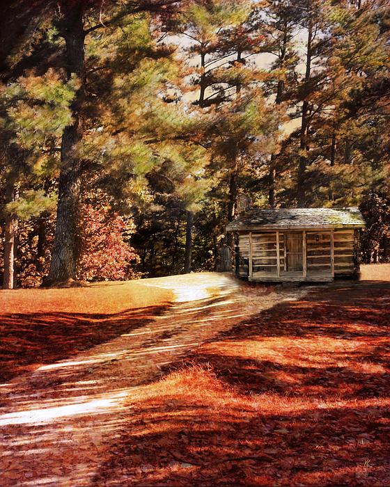 Brewer Cabin Print by Jai Johnson