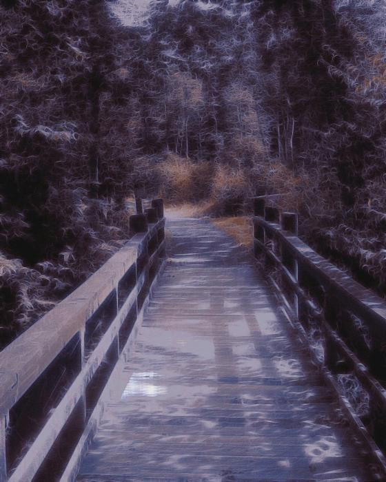 Bridge In The Shenandoah Digital Art  - Bridge In The Shenandoah Fine Art Print