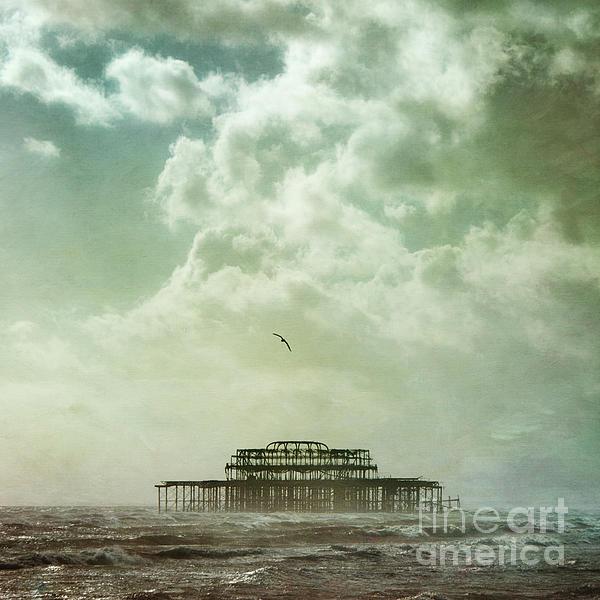 Brighton Seascape Print by Paul Grand