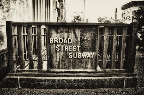 Bill Cannon - Broad Street Subway - Philadelphia