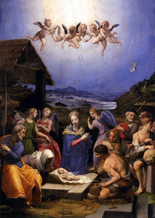 Bronzino Agnolo Painting Print by Munir Alawi