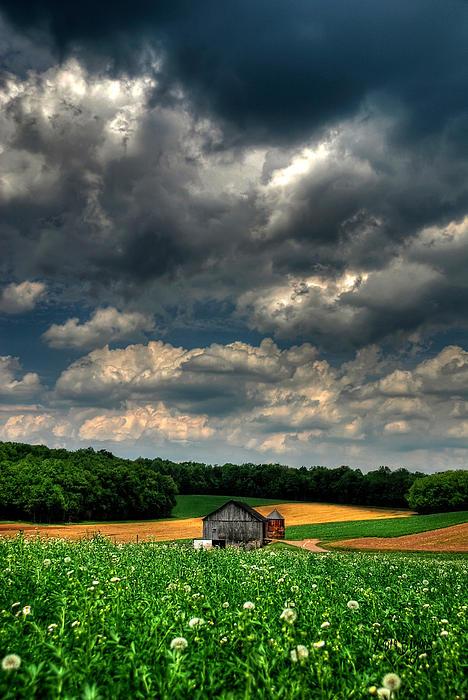 Brooding Sky Photograph