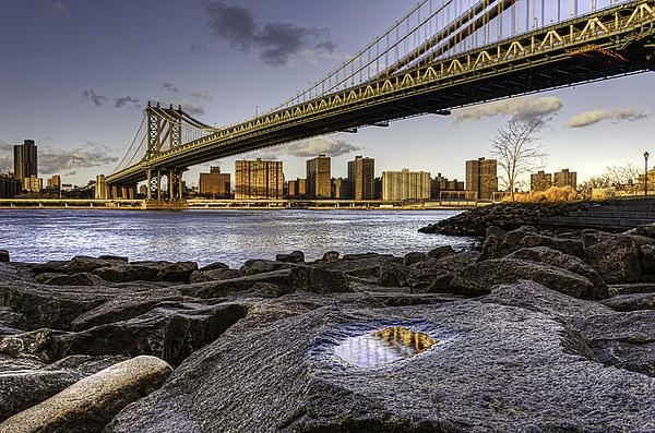 Brooklyn's View Print by Jose Vazquez